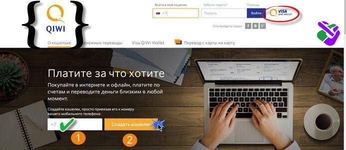 QIWI электронный кошелек: регистрация Visa QIWI Wallet, упрощенная идентификация