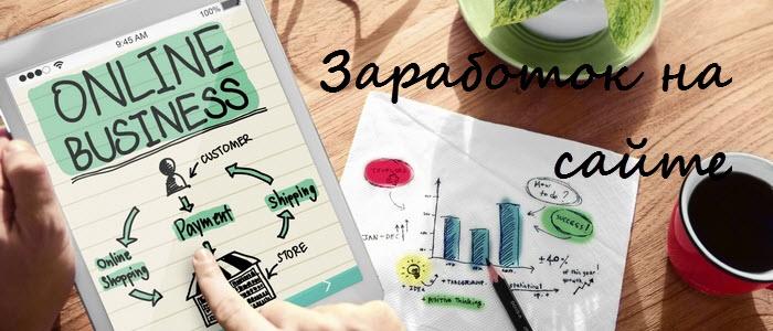 Заработок на своем сайте: способы заработать сайтом