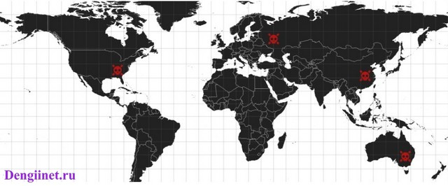 карта кибербезопасности