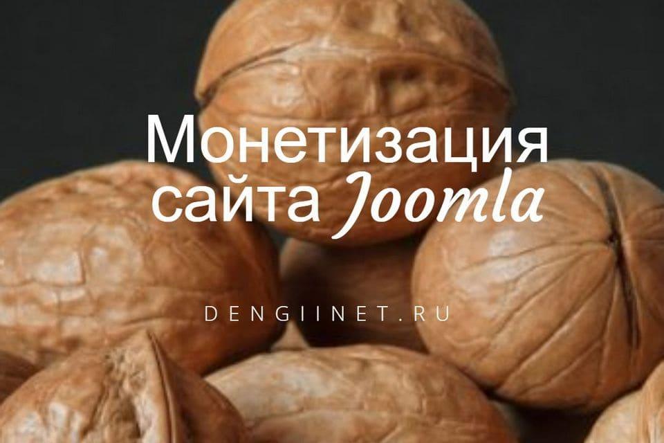 Монетизация Joomlaсайта